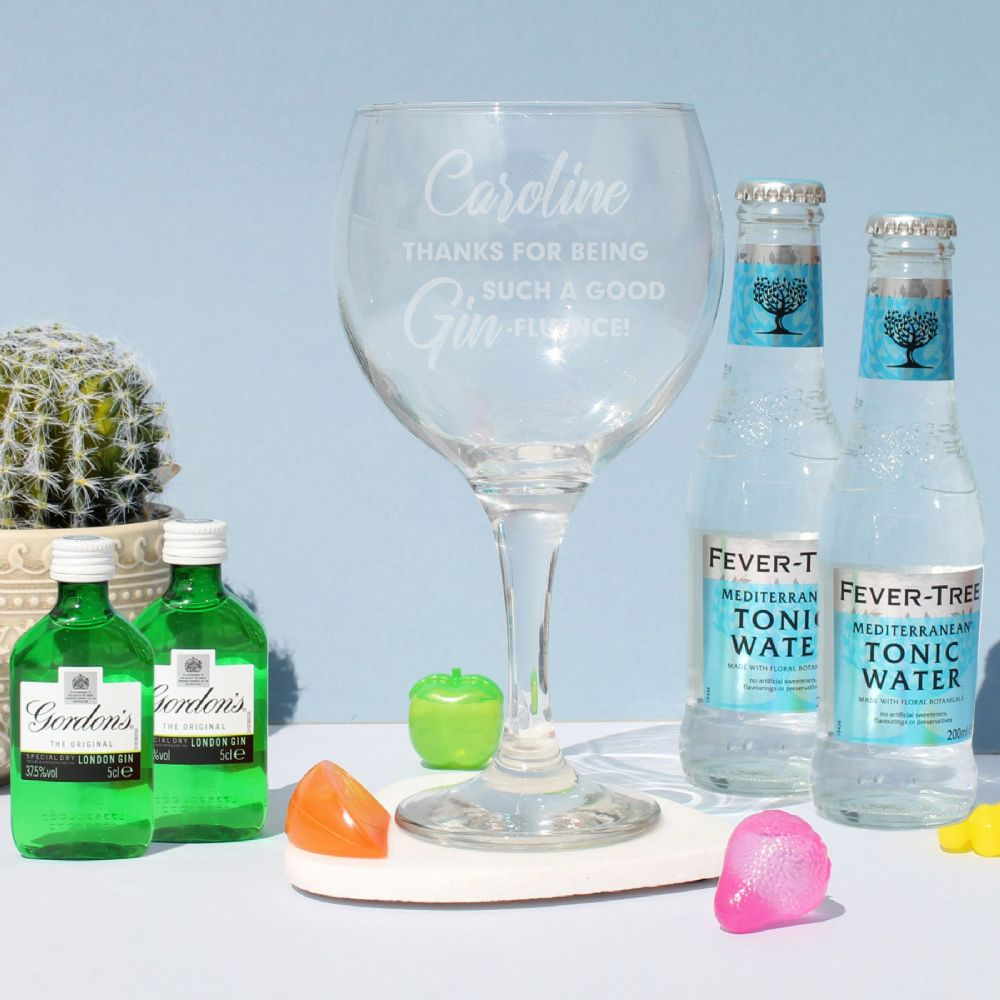 Personalised Gin-fluence Gin Set